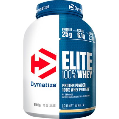 Elite 100% Whey Protein Powder - 2270g - Dymatize