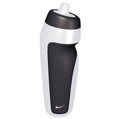Squeeze Sport Water Bottle Clear - Incolor / Preto - 591ml - Nike