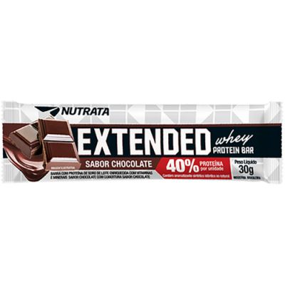Extended Whey Protein Bar 40% - 30g - Nutrata