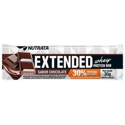Extended Whey Protein Bar 30% - 30g - Nutrata