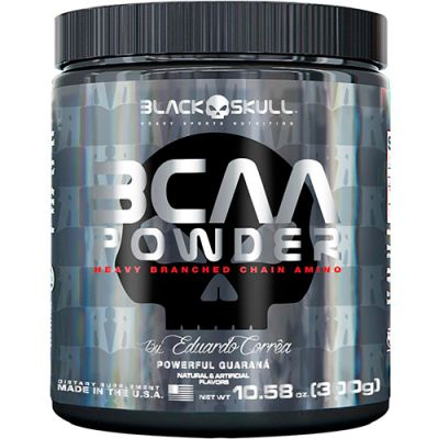 BCAA Powder 5000mg - 300g - Black Skull