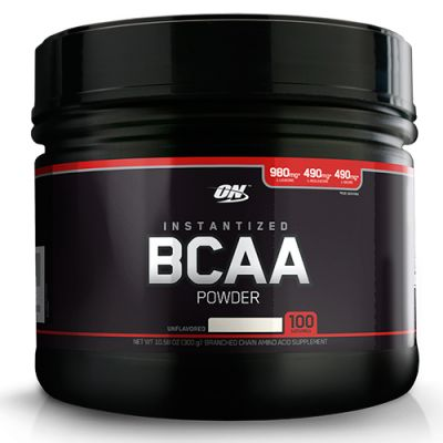 BCAA Powder - 300g - 100 Doses - Optimum Nutrition
