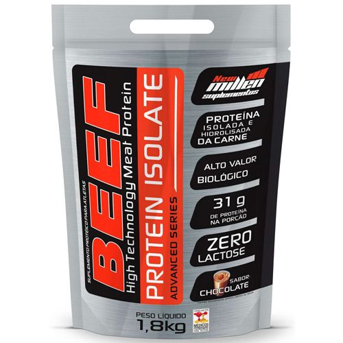Beef Protein Isolate Advanced Series - Pacote 1800g - New Millen