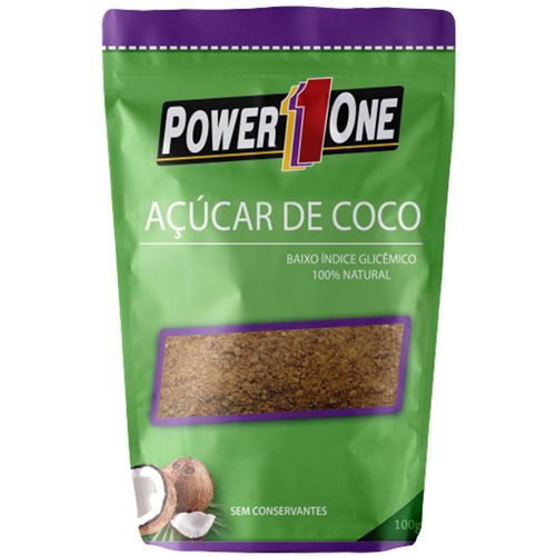 Açúcar de Coco - 100g - Power One