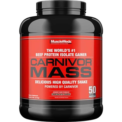 Carnivor Mass Beef Protein Isolate Gainer - 2720g - MuscleMeds