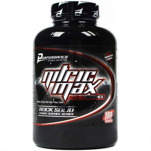 Nitric Max Amino Science - 180 Tabletes - Performance Nutrition