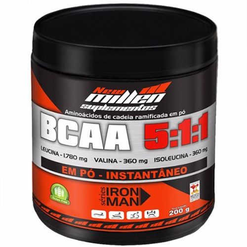 BCAA Powder 5:1:1 Ironman Series - 200g - New Millen