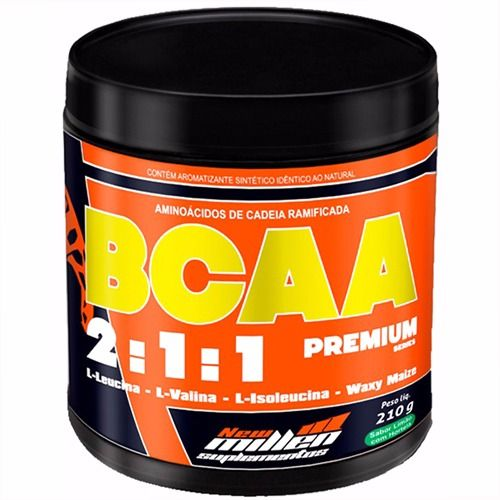 BCAA Powder 2:1:1 Premium Series - 210g - New Millen