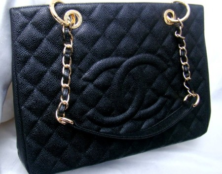 Bolsa Chanel Shopper preto Inspired