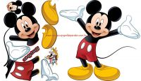 Adesivos RoomMates- Mickey Mouse Giant Wall Cals- Mickey Mouse Disney- RMK1508GMDK