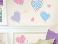 Hearts Wall Decals - RMK1434SCS