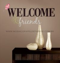 Welcome Friends Wall Decals - RMK1558SCS