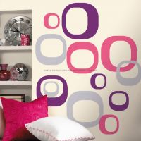Adesivos RoomMates - Modern Ovals Wall Decal - RMK1343GM