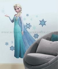 Adesivo RoomMates - Disney Frozen Elsa Giant Wall Decals with Glitter - RMK2371GM