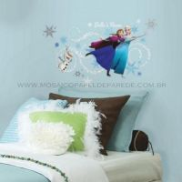 Adesivo RoomMates - Disney Frozen Headboard Wall Decals With Personalization - RMK2738GM