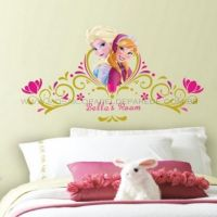 Adesivo RoomMates - Disney Frozen Spring Time Headboard Wall Decals With Personalization - RMK2748GM