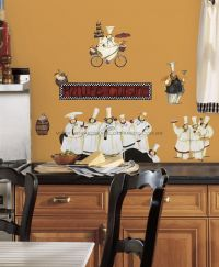 Adesivo RoomMates - Chefs Wall Decals - RMK1255SCS