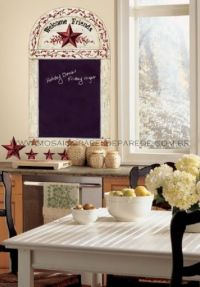 Adesivo RoomMates - Country Chalkboard Wall Decals - RMK1572GM