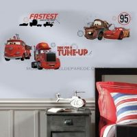 Disney Cars Friends To The Finish Wall Decals - RMK2533SCS