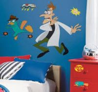 Adesivo Room Mates Phineas and Ferb Giant Walls Decalls RMK1535GM