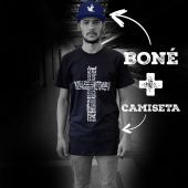 KIT CAMISETA + BONÉ