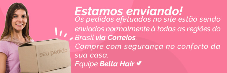 Estamos enviando Bella Hair