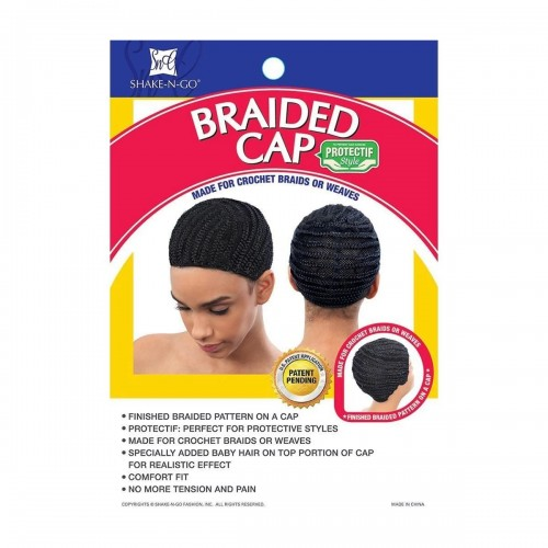 TOUCA Braided Cap with Combs - Freetress  - foto principal 1
