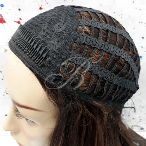 FULLCAP de Fibra Japonesa Dream Girl cor 1 - Freetress Equal - BellaHair VIII
