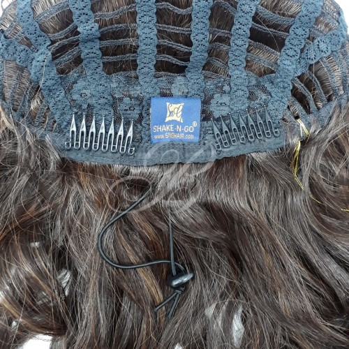 FULLCAP de Fibra Japonesa Dream Girl cor 1 - Freetress Equal - BellaHair X