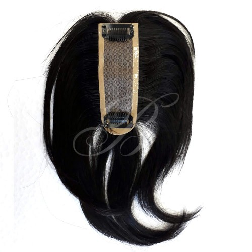 TOUPEE CLOSURE de Cabelo Humano Magic 1 (Cast. Escuro) 20 cm