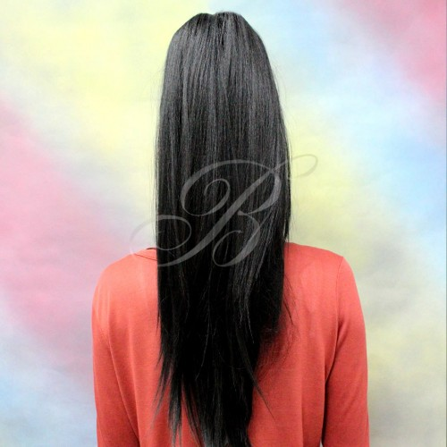 RABO DE CAVALO & FRANJA Liso Yaky China Bang - Cor 1B - Equal - Bella Hair V