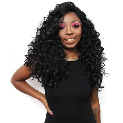 LACE WIG Victory de Cabelo Orgânico cor 1B - FreeTress Equal