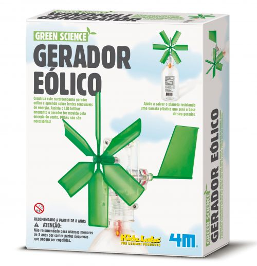 Gerador Eólico - Green Science - 4M