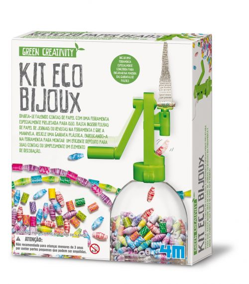 Kit Eco Bijoux - Green Creativity - 4M