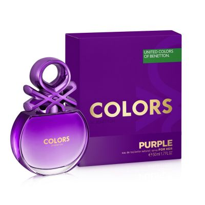 Benetton Perfume Feminino Colors Purple Eau de Toilette 80ml
