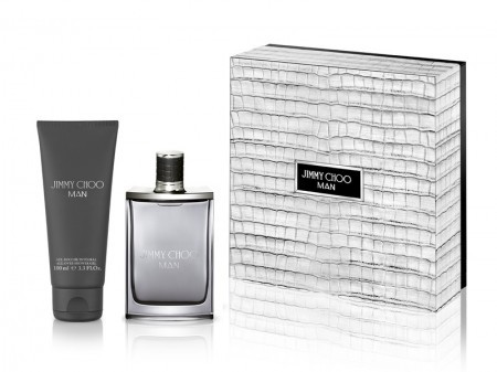 Jimmy Choo Man Kit Perfume Eau de Toilette 50ml + Shower Gel 100ml  - foto principal 1