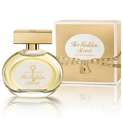 Antonio Banderas Perfume Feminino Her Golden Secret - Eau de Toilette 80ml