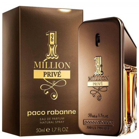 cd7f32041d Paco Rabanne 1 Million Privé Perfume Masculino - Eau de Parfum 50ml + Travel  1 Million