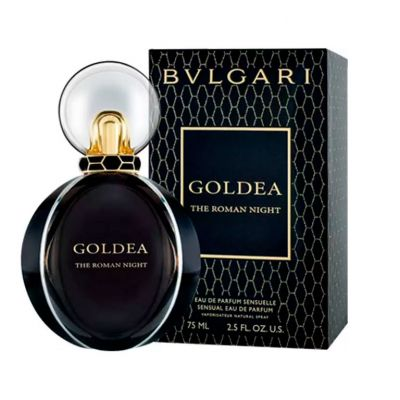 Bvlgari Goldea The Roman Night Perfume Feminino Eau de Parfum 75ml