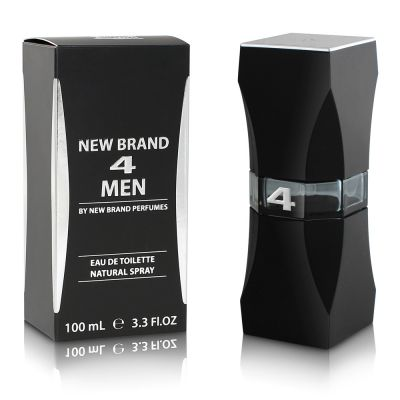 New Brand Prestige 4 Men For Men - Eau de Toilette 100ml