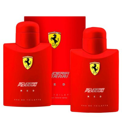 Ferrari Scuderia Red Kit Duo Perfume Masculino Eau de Toilette 75ml + 75ml