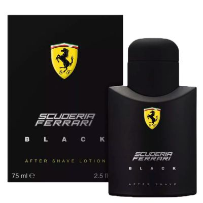 Ferrari Scuderia Black After Shave Lotion - Loção Pós-Barba 75ml