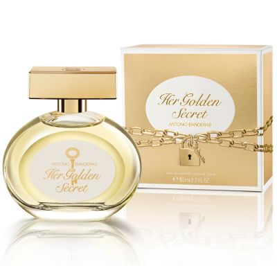 Antonio Banderas Perfume Feminino Her Golden Secret - Eau de Toilette 50ml