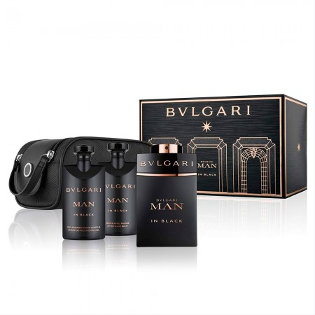 Bvlgari Kit Man In Black EDP 100ml + After Shave 75ml + Shower Gel 75ml + 527d5cafd5