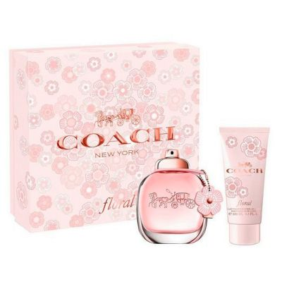 Coach Perfume Feminino Coach Floral Kit EDP 50ml + Body Lotion 100ml