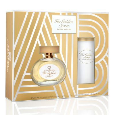 Antonio Banderas Kit Her Golden Secret Feminino 80ml + Desodorante 150ml