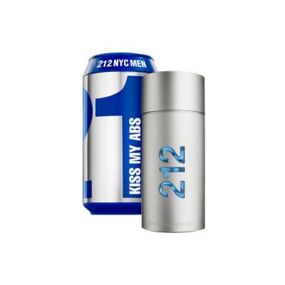 Carolina Herrera 212 Men Perfume Masculino EDT 100ml (Collector Lata)