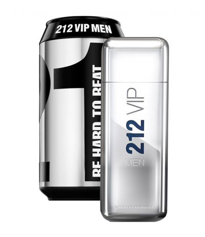 Carolina Herrera 212 Vip Men Perfume Masculino EDT 100ml (Collector Lata)