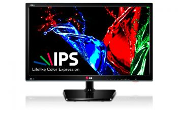 MONITOR TV LG 26 LED IPS HD 1366X768 C/ CONVERSOR PIP HDMI E USB 26MA33D