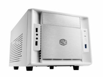 GABINETE COOLER MASTER ELITE 120 ADVANCED BRANCO OU PRETO MINI ITX USB 3.0 SEM FONTE RC-120A-WWN1